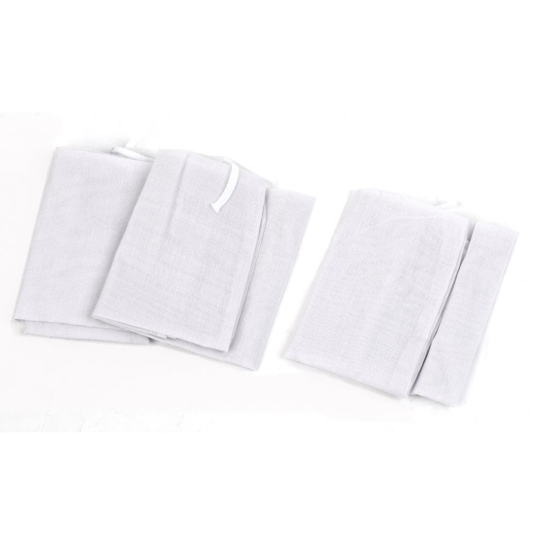 """14.5"""" x 10.2"""" Soup Ingredients Filtration Filter Reusable Mesh Bag White 3pcs - image 3 de 3"""