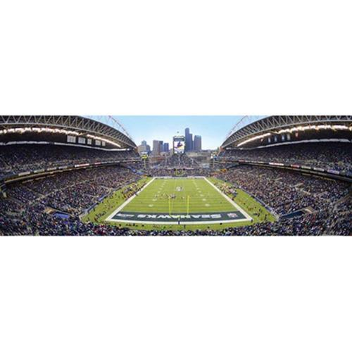 Masterpieces Puzzle Co Seattle Seahawks Panoramic Jigsaw Puzzle