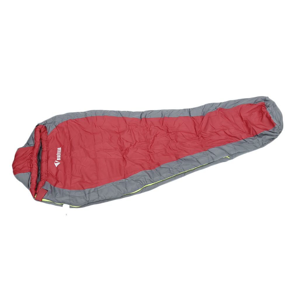 New-5 Winter Mummy Type Thermal Warm Adult Cotton Sleeping Bag for Outdoor Camping Adventure Family Home Warming... by