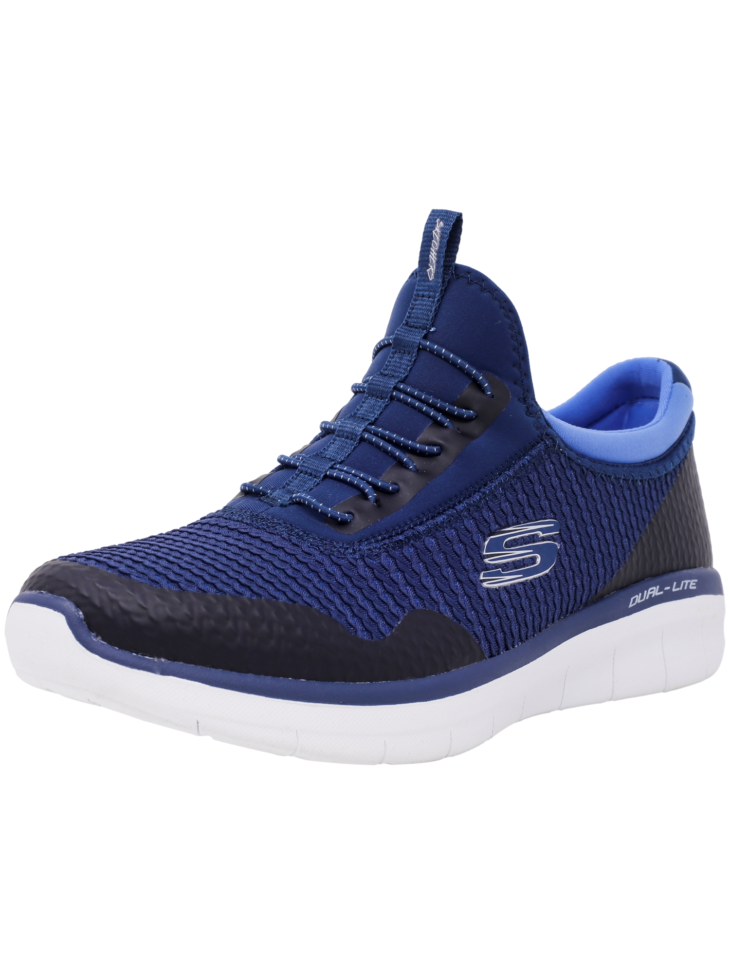 Skechers Women's Synergy 2.0 - Mirror Image Navy / Blue Ankle-High Training Shoes 10M