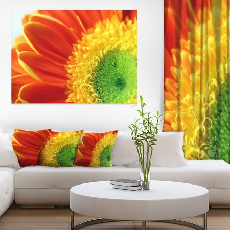 Gerber Daisy Flower Petals - Floral Canvas Art Print - image 3 of 3
