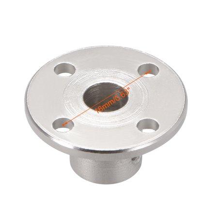 6mm Inner Dia H12*D10 Rigid Flange Coupling Motor Guide Shaft Coupler Motor Connector for DIY Parts - image 1 of 5
