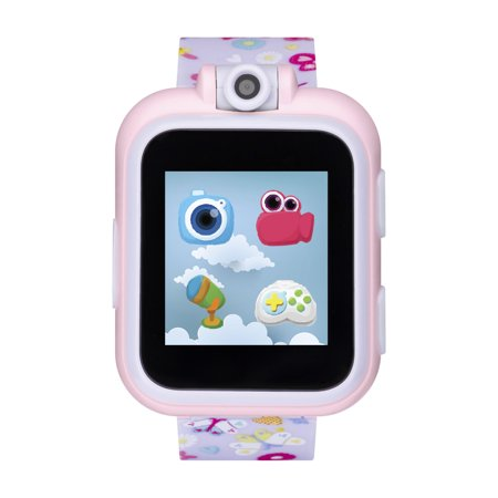 iTech Jr. Kids Smartwatch for Girls - Purple Butterflies