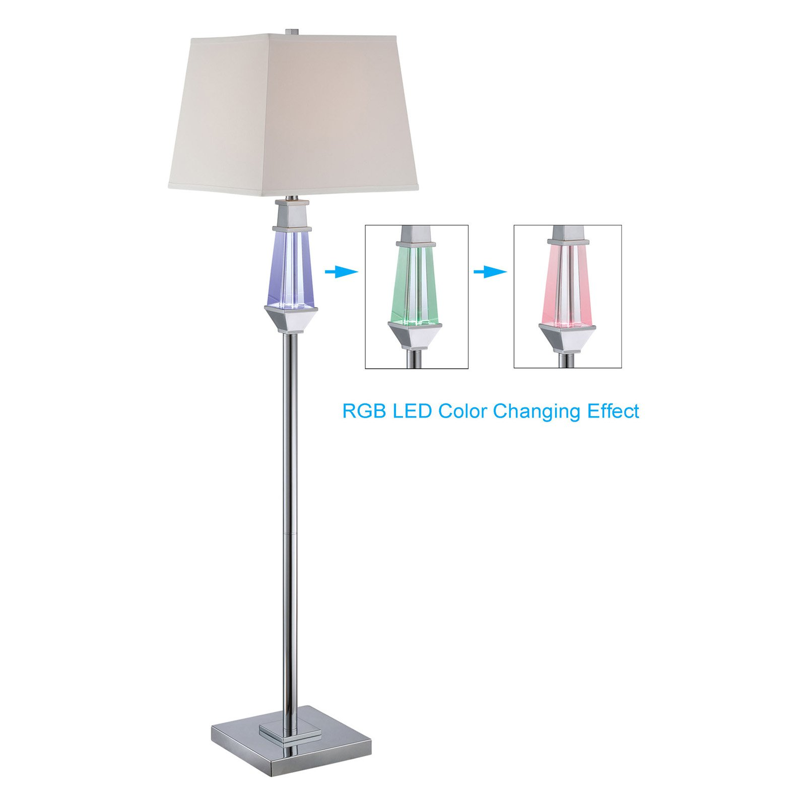 Lite Source 5 Light Floor Lamp