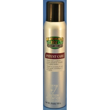 Moneysworth and Best Patent Leather Care 168g, Cleans and Protects By Moneysworth &