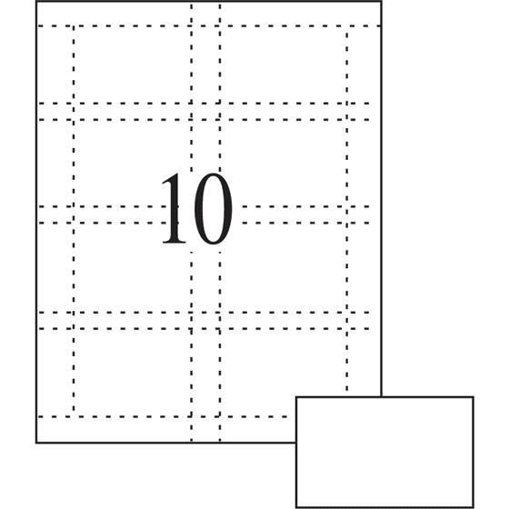 Averyr Matte Business Cards For Inkjet Printers 28371 Pack Of 100