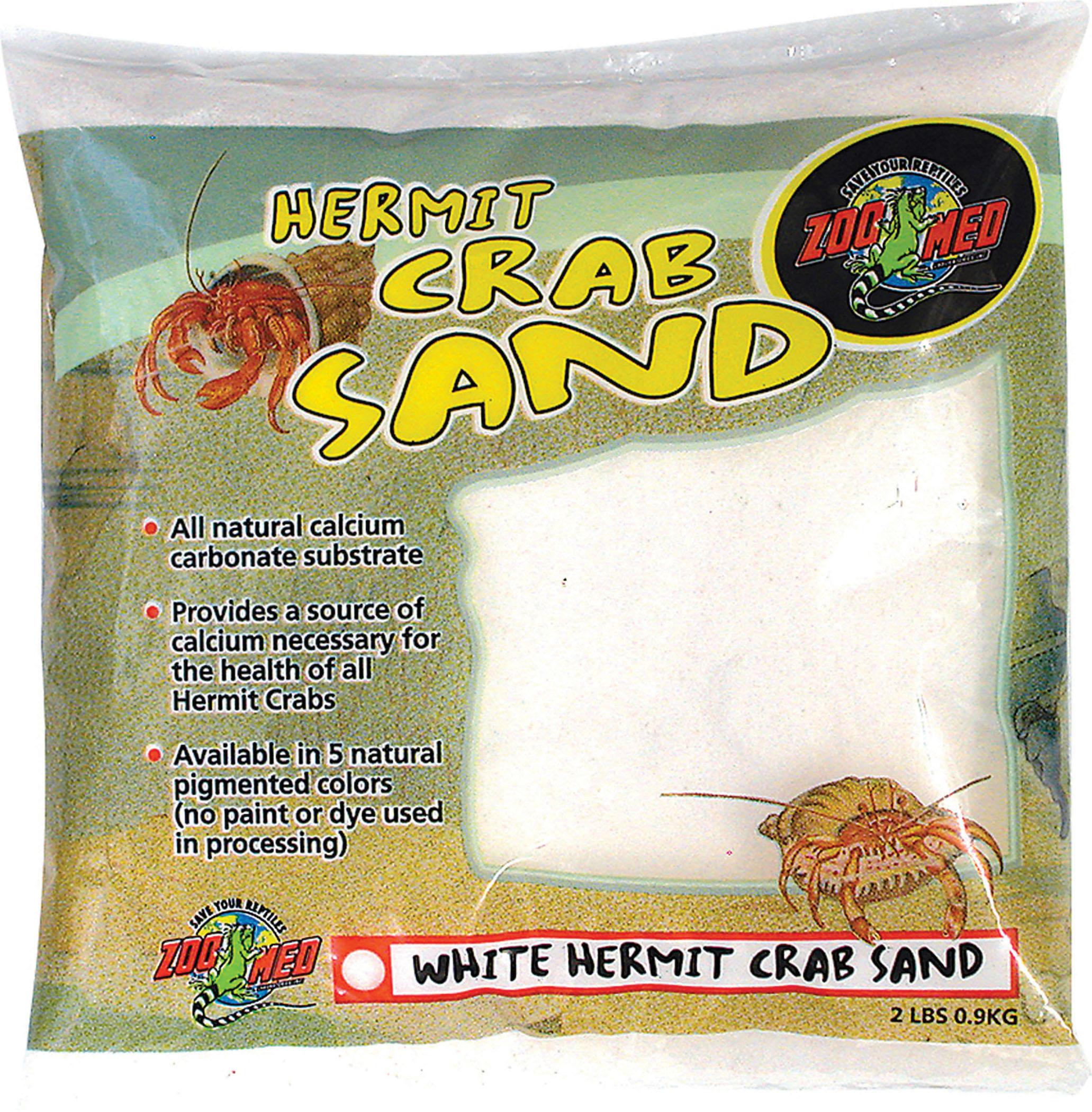 Zoo Med Laboratories Inc-Hermit Crab Sand- White 2 Pound
