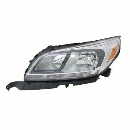 2013-2015 Chevrolet Malibu LS Sedan 4-Door  Aftermarket Driver Side Front Head Lamp Assembly 25919065