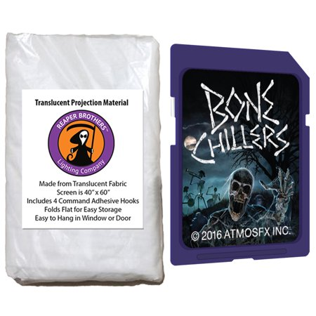 AtmosfearFX Bone Chillers Halloween SD Card + Reaper Bros? 60