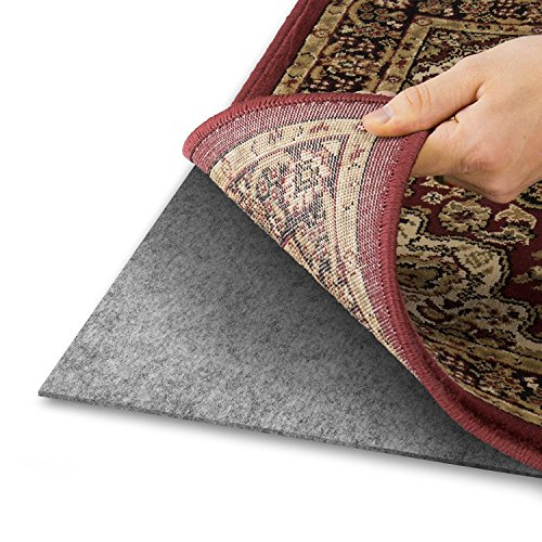 Area Rug Pad With GRIP TIGHT Technology (9x12) | Non Slip Padding Perfect  For