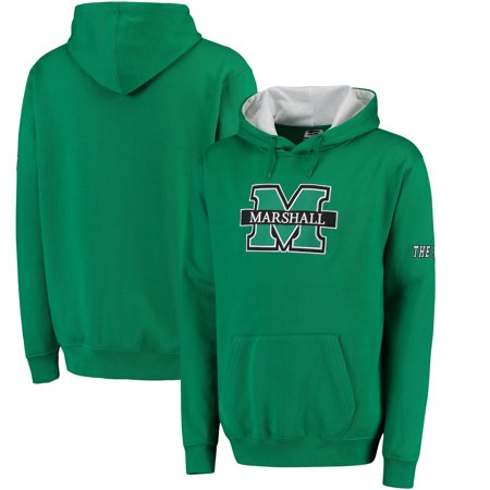 Stadium Thunder (Marshall Thundering Herd Stadium Athletic Big Letter Logo Pullover Hoodie -)