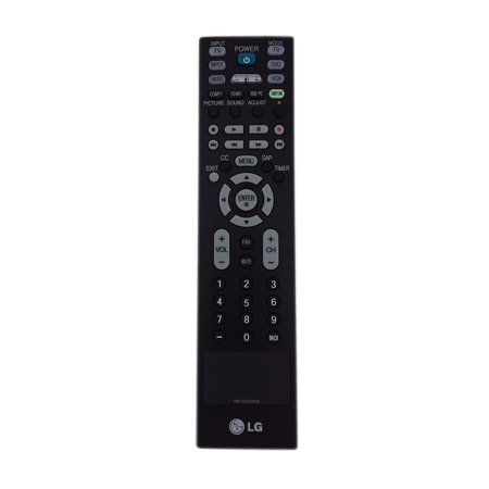 Original TV Remote Control for LG 26LC7D Television - image 2 de 2