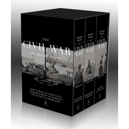 The Civil War Trilogy Box Set : With American Homer: Reflections on Shelby Foote and His Classic The Civil War: A (Shelby Nose)