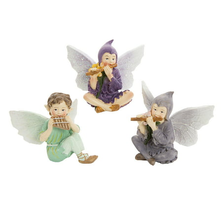 Darice Young Fairy Garden Fairy Figurine Assortment Assorted (Halloween Fairy Garden)