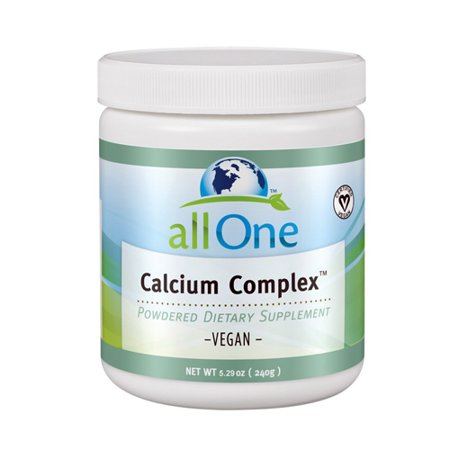 Image of All One Calcium Complex Dietary Supplement Vegetarian Powder - 240 Grm