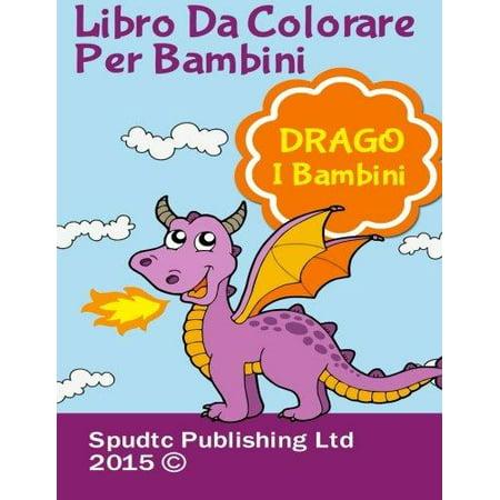 Libro Da Colorare Per Bambini: Drago I Bambini - image 1 of 1