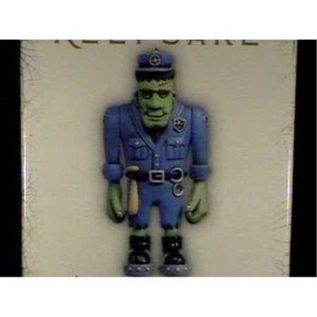 QFO6315 Officer Rob Graver Hauntington Collection 2005 Hallmark Halloween Ornament - Hallmark Halloween