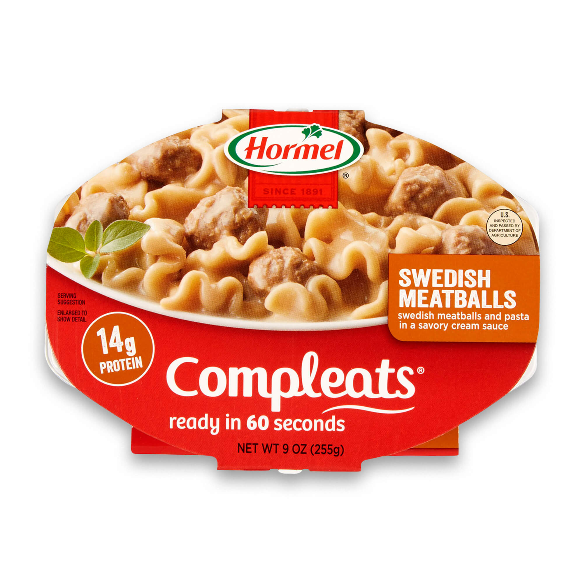 Hormel Compleats Swedish Meatballs, 9 Ounce