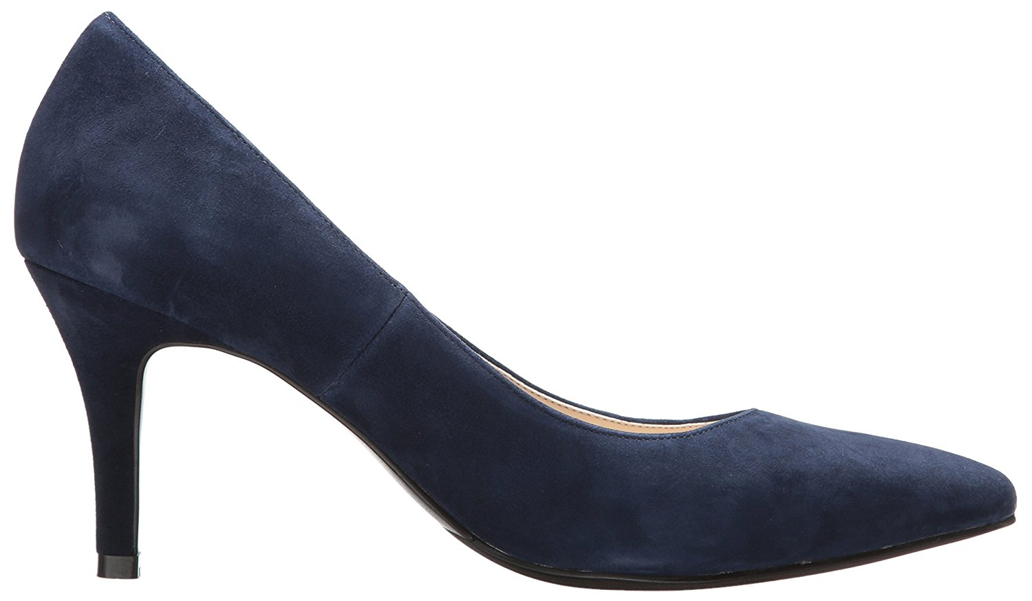 Cole Haan Womens Amelia Suede Pointed Toe Classic, Blue/navy suede, Size 8.5