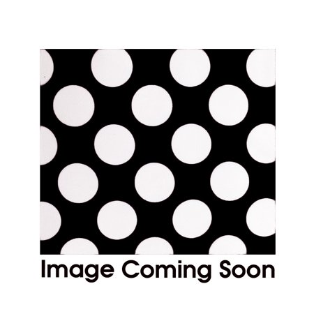 Your Chair Covers - Satin Sashes Black/White Polka Dots (Pack of 10) for Wedding, Party, Birthday, Patio, etc. (Pink And White Polka Dot Paper)
