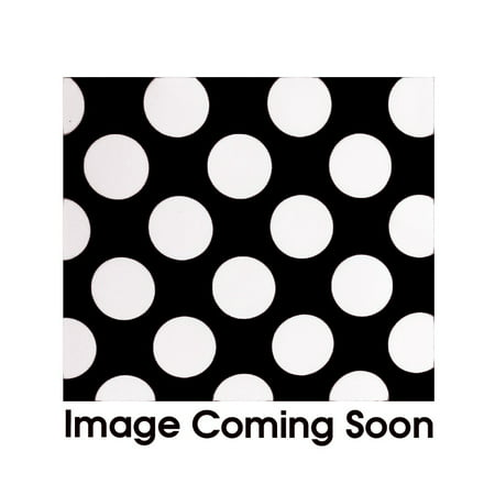 Your Chair Covers - Satin Sashes Black/White Polka Dots (Pack of 10) for Wedding, Party, Birthday, Patio, etc.