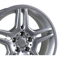 17-inch Fits Mercedes Benz - AMG Aftermarket Wheel - Silver 17x7.5