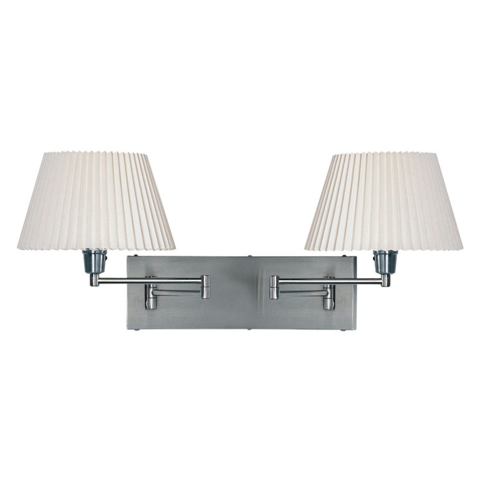Dainolite DMWL802-SC Double Swing Arm Wall Lamp by Dainolite Ltd