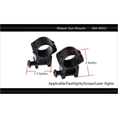Tactical Scorpion Gear Pair Weaver Scope Mount Rifle See Thru 26mm  (Best Neo Tactical Gear Baby Gears)