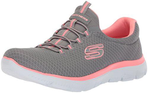 Skechers Sport Women's Summits M Sneaker,Grey/Pink,8.5 M Summits US e412cf