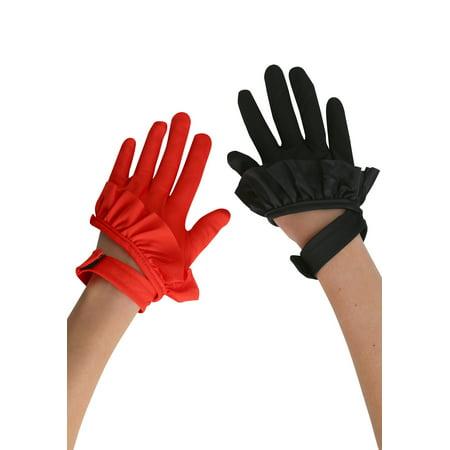 Twisted Circus Ladies Clown Gloves