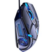7 Color Backlight Gaming Mouse 6 Key Mechanical Mouse 7 Color Backlight Mechanical Mouse 6 Key Gaming Mouse Low-noise Gaming Mouse