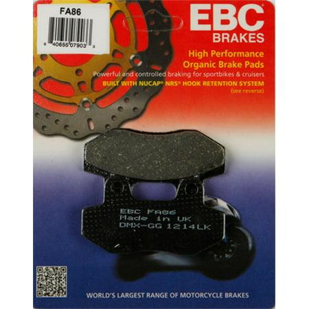 EBC FA86 Organic Kevlar Brake Pads
