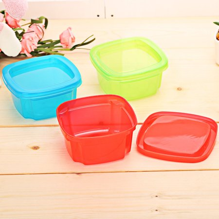 Baby Food Storage Airtight Plastic Containers, Rectangular Small Bento Lunch Boxes, Snacks Storage Boxes Mini Portable (Best Bento Box For Toddlers)