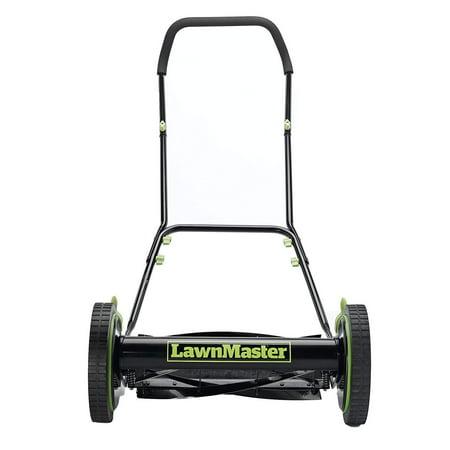 LawnMaster LMRM1601 Reel Mower, 16-Inch