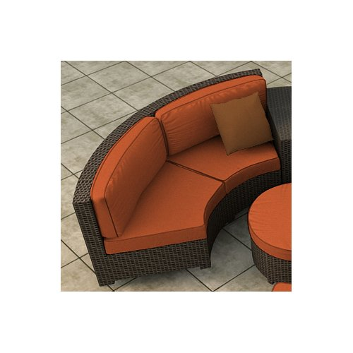Forever Patio Hampton Loveseat with Cushions