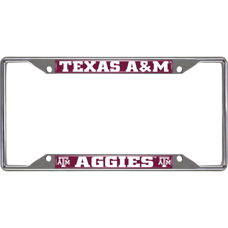 Texas Am University License Plate Frame Walmartcom