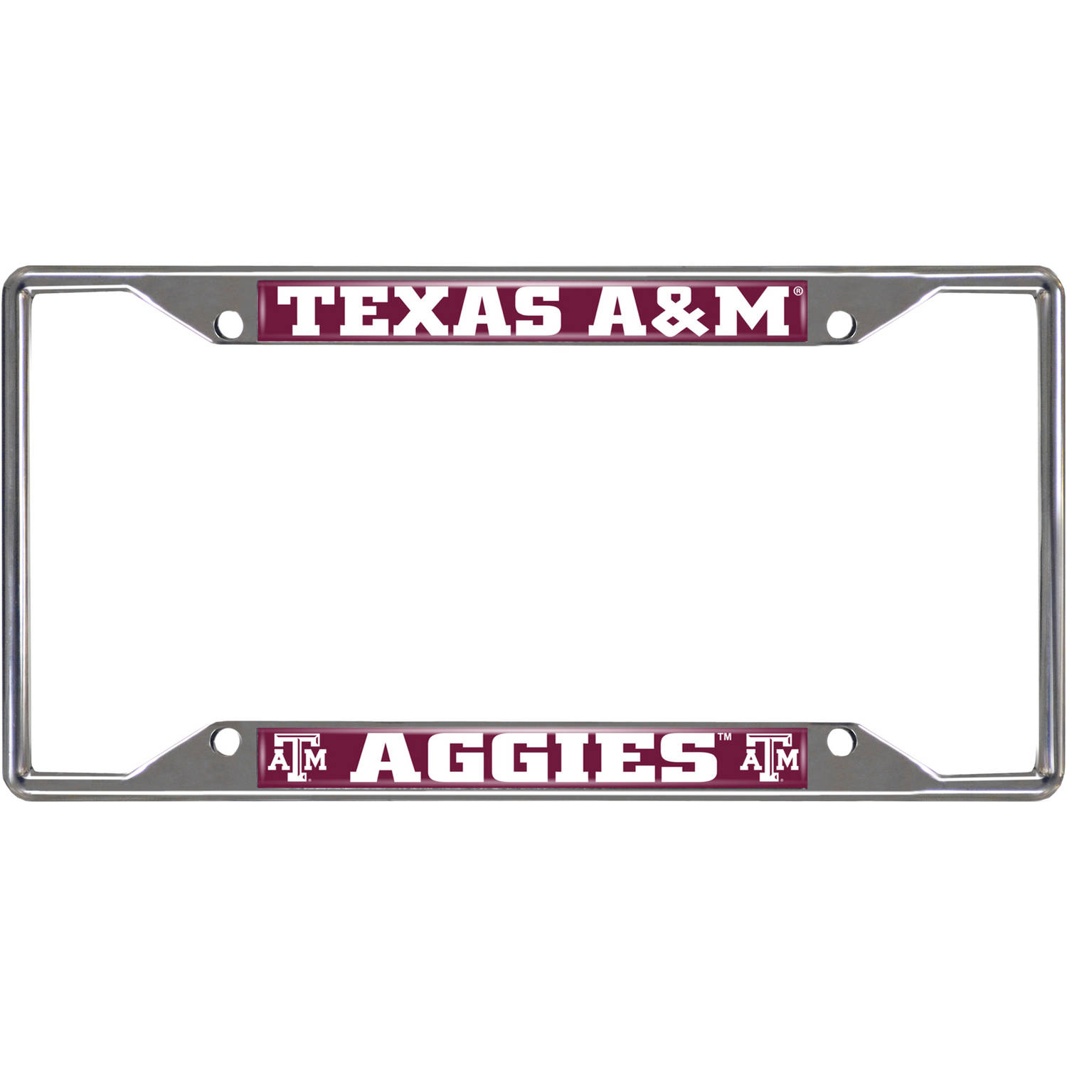 Texas A&M University License Plate Frame