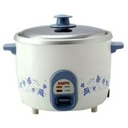 Sanyo 5-Cup Rice Cooker & Vegetable Steamer for 220 Volt Countries (Not for USA Use)