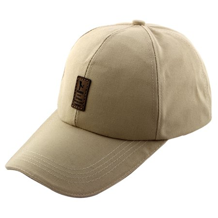 Unisex Cotton Blends EDIKO Golf Logo Pattern Baseball Peaked Visor Hat Cap