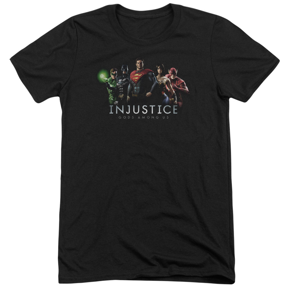 Injustice Gods Among Us Injustice League Mens Tri-Blend Short Sleeve Shirt