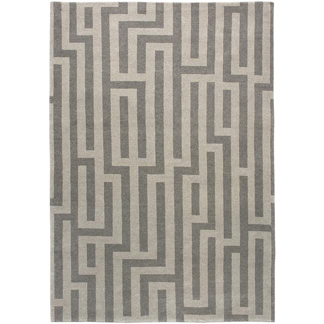 Due Process Stable Trading Adaptations Maze Fawn Area Rug, 9 x 12 ft.