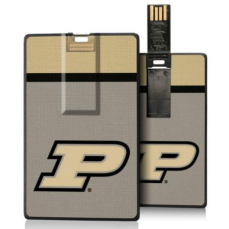 Purdue Boilermakers Stripe Credit Card USB Drive 16GB