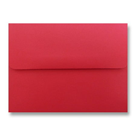 Free Shipping 1000 Festive Red Envelopes A7 (5-1/4 X 7-1/4) for 5 X 7