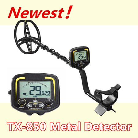 "11"" Metal Detector Underground Hunter Find Gold Digger Beach Sensitive Search Machine LCD Professional  High Accuracy Waterproof Depth 2.5m Scanner Finder Detecting Equipment"
