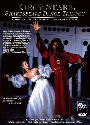 Kirov Stars: Shakespeare Dance Trilogy (DVD) by V.I.E.W. Video
