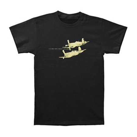 Candlebox Men's  Airplanes T-shirt Black - Airplane Shirt