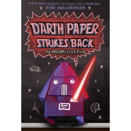 Darth Paper Strikes Back : An Origami Yoda - Halloween Origami Kids