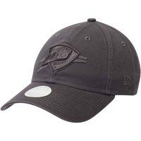 Oklahoma City Thunder New Era Women's Tonal Core Classic 9TWENTY Adjustable Hat - Graphite - OSFA