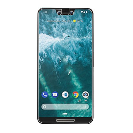 Google Pixel 3 XL Tempered Glass, Case Friendly 2.5D Anti Shatter Scratch and Impact Resistant 9H Tempered Glass Screen Protector for Google Pixel 3 XL [6.3 Inch] - HD Crystal Clear