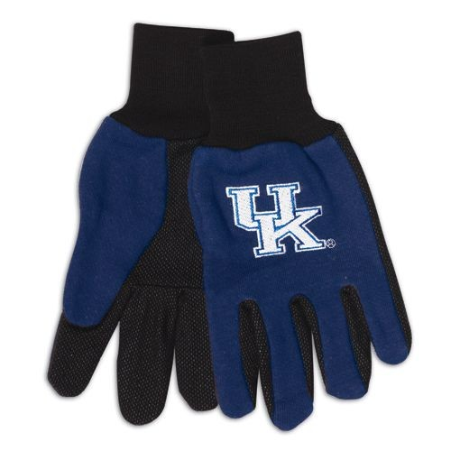Kentucky Wildcats Two Tone Gloves Adult by McArthur Towels & Sports
